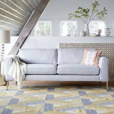 the marco sofa adapts to your style pairing well with mid century