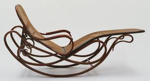 chaises thonet gebrüder thonet company design rocking chaise with adjustable back
