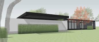 101 Simpatico Homes Courtyard House Mod 1 Carport By Method