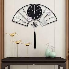 kreative fan form wanduhr modern design home decor 3d wanduhren wand aufkleber wohnzimmer dekoration wand digitale uhr