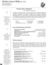 Cover Letter Sample Teacher Resumes 2016 New Graduate Resume English Visual Arts Elementary Free And Letters 2