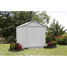 Arrow Shed Door Assembly by Ezee Shed 8 X 7 Ft Storage Shed In Cream