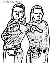 Coloring Pages Wwe 18 WWE
