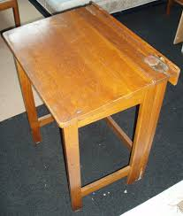 bureau ecolier en bois bureau ecolier bois pliable vintage les vieilles choses