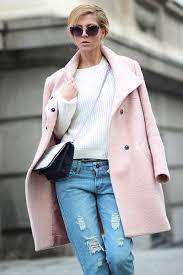 Light Pink Winter Coat JacketIn