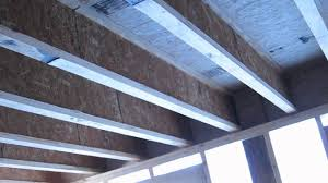 Floor Joist Size Residential by Tji Floor Framing And Support Beams Youtube