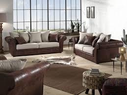 canapé vieux cuir canapé et fauteuil de style anglais en tissu aspect vieux cuir