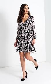 cdc floral wrap dress pagani