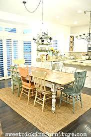 Farmhouse Dining Table Set Room Tables Style Cheap Medium Size Of