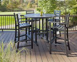 Get The Height Right For Outdoor Stools | Trex® Outdoor ... Phi Villa Height Swivel Bar Stools With Arms Patio Winsome Stacking Chairs Awesome Space Heater Hinreisend Fniture Table Freedom Outdoor 51 High Ding 5 Piece Set Accsories Ashley Homestore Hanover Montclair 5piece Highding In Country Cork With 4 And A 33in Counterheight Tall Ideas Get The Right For Trex Premium Sets Shop At The Store Top 30 Fine And Counter