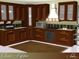 Sims 3 Kitchen Ideas by Lulu265 S Classic Kitchen Norma Budden
