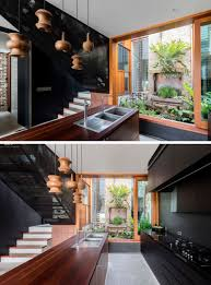100 Modern Houses Interior Carter Williamson Architects Used Black To Give This