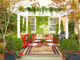 Ideas Fascinating Curtains Top Lowes Pergola And White Cushions