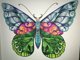 Magical Jungle Butterfly Coloring Book Johanna Basford