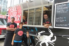 Boo Coo Roux, Chicago's Newest Food Truck, Serves Cajun-Centric Eats ... Chicago Food Truck Industry Dealt A Blow The Best Food Trucks For Pizza Tacos And More Big Cs Kitchen Atlanta Roaming Hunger Foodtruckchicago Sushi Truck Fat Shallots Owners Are Opening Lincoln Park Gapers Block Drivethru 6 To Try Now Eater In Every State Gallery Amid Heavy Cketing Challenge To Regulations Smokin Chokin Chowing With The King Foods