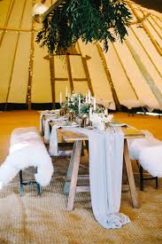 Wild Tipi Rustic Table Scape With Props From Box And Cox Vintage Hire