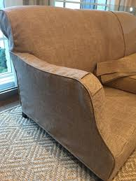Crate And Barrel Lowe Chair Slipcover by Before And After Design Indulgence