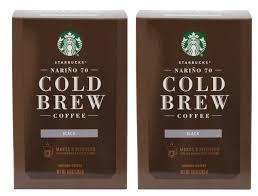 Amazon Starbucks Narino 70 Cold Brew Coffee Pitcher Packs