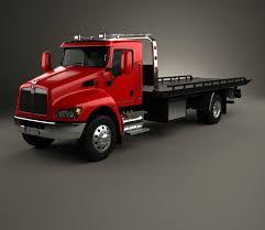 Kenworth T370 Tow Truck 2009 3D Model - Hum3D