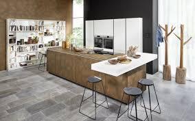 metall kücheninsel mit theken element nolte kuechen