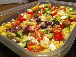 salade de pâtes à la grecque selon bob le chef