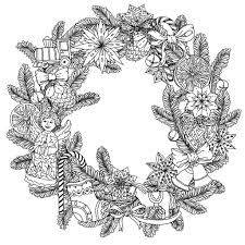 Christmas Inside Coloring Pages Adults