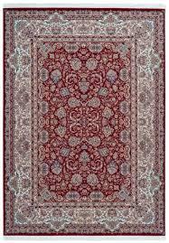 casa padrino luxus kunstfaser teppich mit fransen rot verschiedene größen rechteckiger wohnzimmer teppich im orientalischen stil