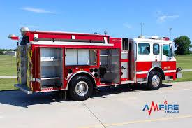 100 Pumper Trucks AM 18301 2004 AMERICAN LA FRANCE FIRE TRUCK RESCUE PUMPER