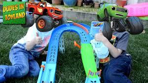 100 Monster Truck Videos Kids Blaze And The Machines Flip And Race Speedway Monster Truck