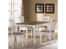 Hillsdale Bayberry WhiteFive Piece Rectangle Dining Set