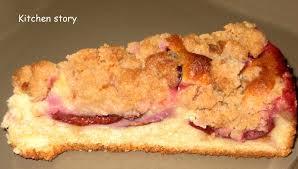 dessert aux quetsches recette gâteau streussel aux quetsches un peu de nostalgie kitchen story