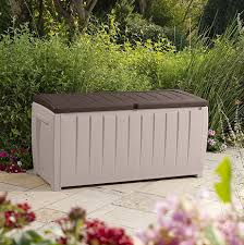 Suncast Patio Storage And Prep by Deck Storage Container And Seat Best Price Ever