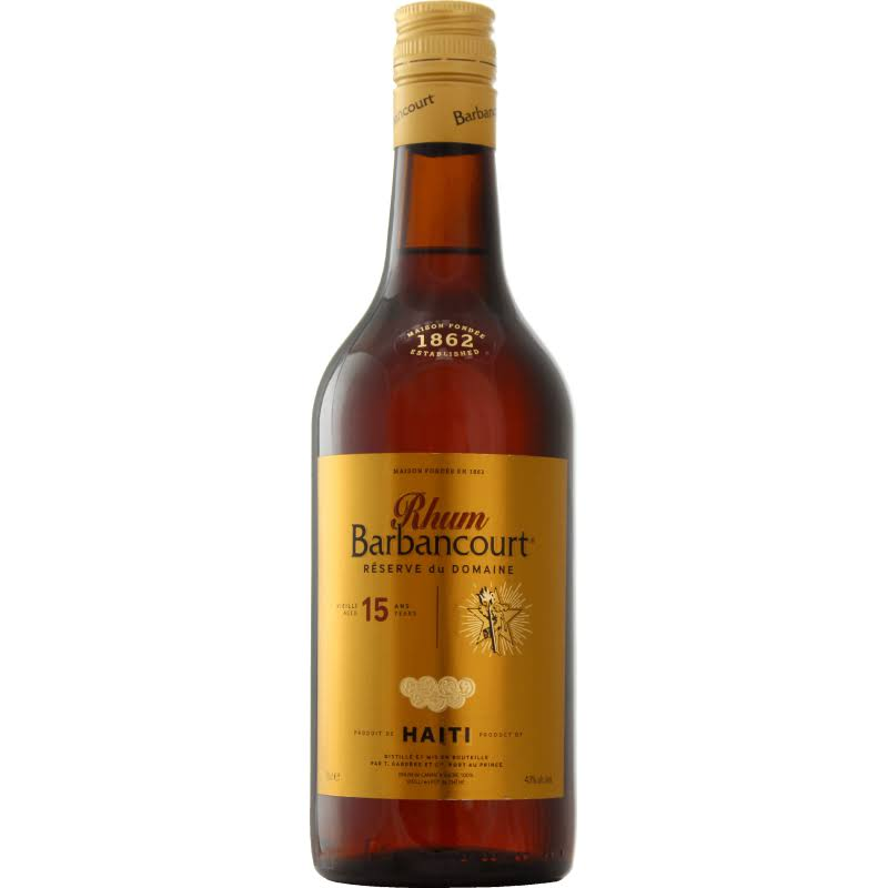 Barbancourt 15 Year Old Estate Reserve Rum - 750 ml bottle
