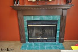 diy fireplace surround transformation burger