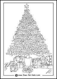 Christmas Tree Colouring Page File Size 12MB