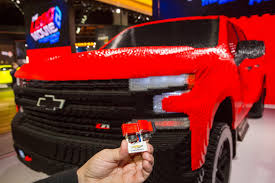 100 Bricks Truck Sales This LifeSized 2019 Silverado LEGO Took Over 2000 Hours And