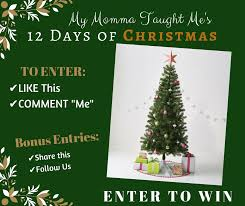 Today Is The First Of My 12 Days Christmas Giveaways I Am Giving Away A 6 Ft Unlit Tree