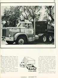 Photo: September 1973 Dump Truck Of The Month | 09 Overdrive ... Barnes Transportation Services Owner Operator Truck Insurance Commercial Dump Jobs In Arkansas Tri Axle Day And Life Of A Dump Truck Driver Toronto Ont Youtube Orlando Blog Forunner Group Ohio 189 Playing With Dirt The Life An Flatbed Bc Big Rig Weekend 2007 Protrucker Magazine Canadas Trucking Home Dsr 2016 Western Star 4900sa Tandem Bailey Tampa Florida Homeowners