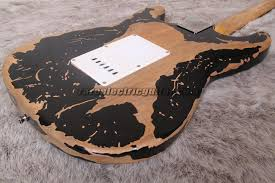Our Customized Fender Ultimate Relic 69 Stratocaster Guitar Exactly Followed The Original Guitars Specifications Body Construction Is Bolt On