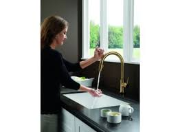 Delta Trinsic Kitchen Faucet by The Fixture Gallery Delta Trinsic Single Handle Pull Down