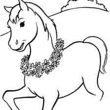 Horse Coloring Page AZ Pages