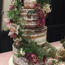Well Dressed Cakes By Brett Fondant Ruffle Wedding Cake