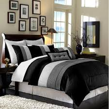 Black And Grey Quilt Sets