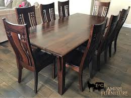 Sometimes A Simple Mission Leg Style Table And Chairs Is Just The Right Type Of Design