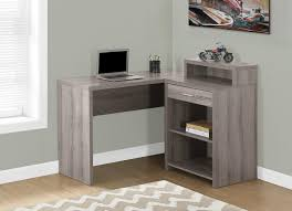 dark taupe desks the office furniture depot