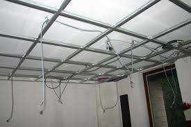 création du faux plafond cinema paradiso à la maison