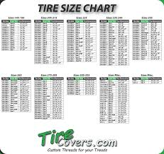100 Truck Tire Size S Chart World Of Label