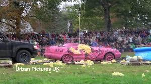 Nekoosa Pumpkin Fest 2017 by Americans Drop Massive Pumpkins From Crane Onto Cars Youtube
