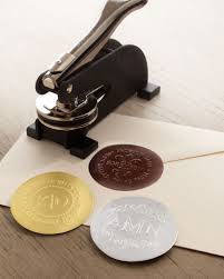 Ideas Captivating Custom Embosser For fice Ideas With Envelope