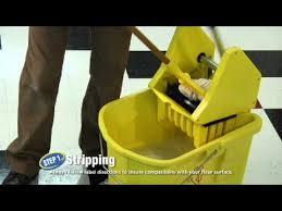 Zep Heavy Duty Floor Stripper by Zep Commercial Floor Care The Home Depot Youtube